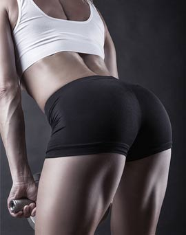female strong glutes - Unlock Your Glutes – Conversion Monster!