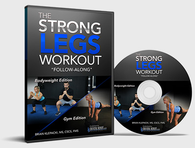 strong legs - Unlock Your Glutes – Conversion Monster!