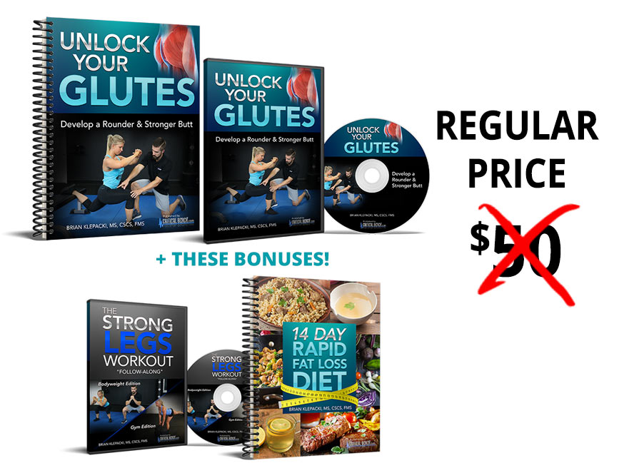 unlock your glutes collage price - Unlock Your Glutes – Conversion Monster!